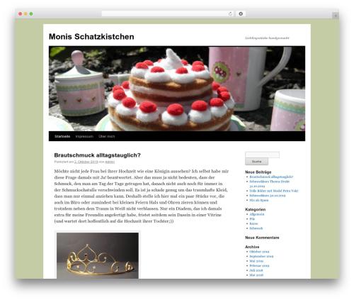 Twenty Ten WordPress theme download - schatzkistchen.com