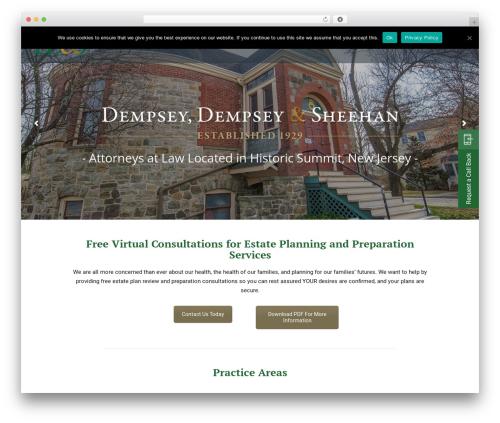 Wizelaw theme WordPress - ddsnjlaw.com