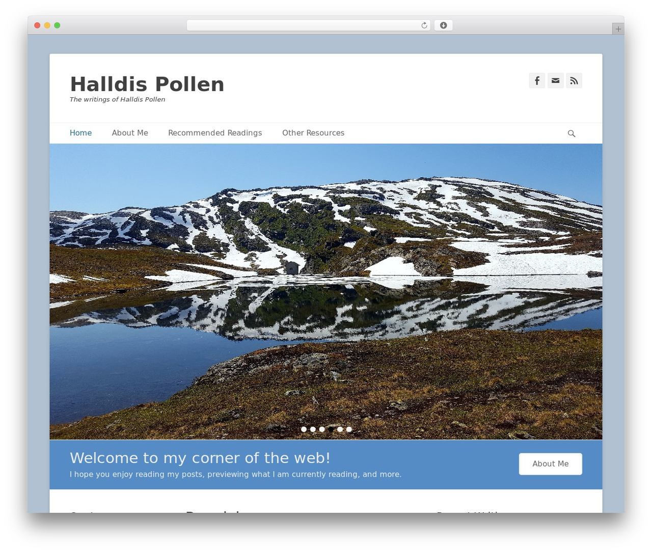 WordPress template Catch Base Pro - halldispollen.com