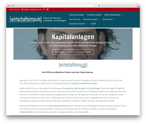 WordPress theme DI Basis 2.7.8 - wirtschafts-impuls.com