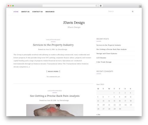 Activello WordPress free download - jdavisdesign.com