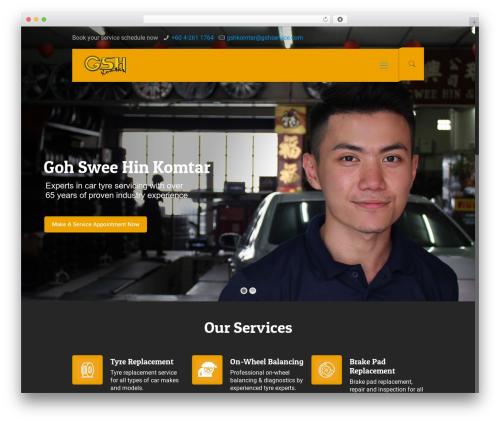 Betheme WordPress ecommerce theme - gshservice.com