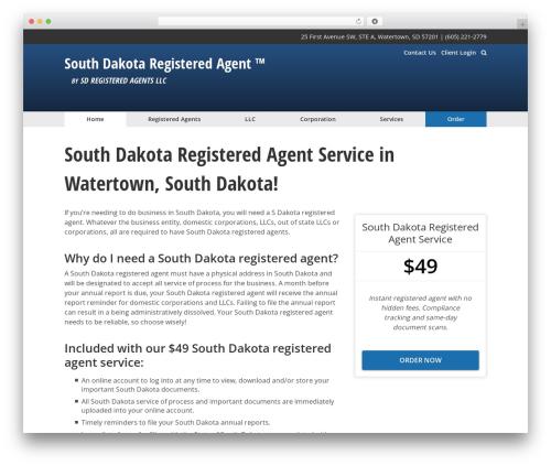 The Theme premium WordPress theme - southdakotaregisteredagent.com