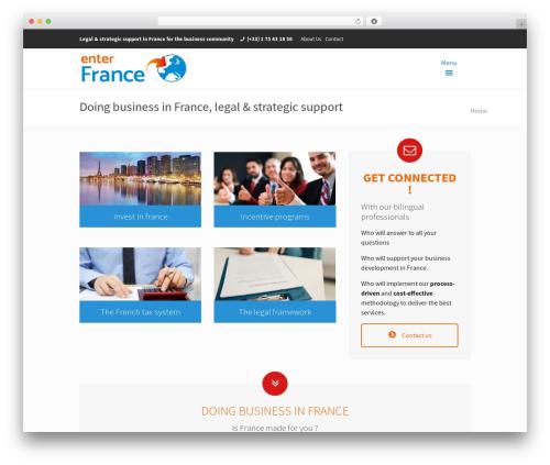 Theme WordPress Betheme - enter-france.com