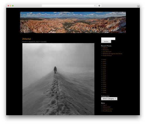 Twenty Ten WordPress website template - andre-schollmeyer.com
