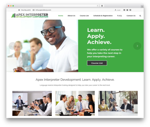 WordPress theme jupiter - apexidcorp.com