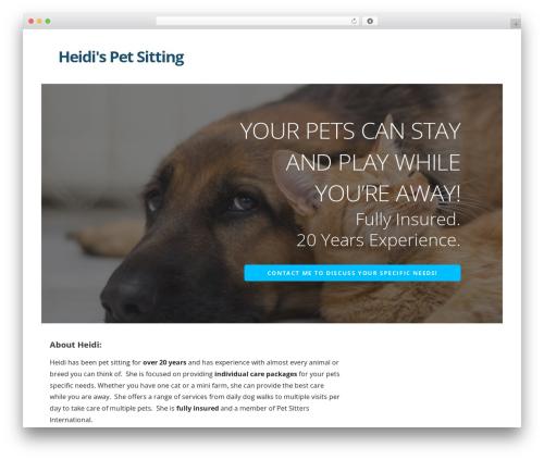 Ascension best WordPress template - heidipetsits.com