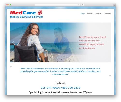 MedCare WordPress theme - medcare-la.com