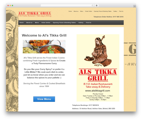 Responsive WordPress free download - alstikkagrill.com