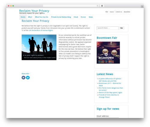 Responsive WordPress template free download - reclaim-your-privacy.com