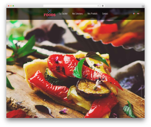 Themify Fullpane WordPress template for business - foods-company.com