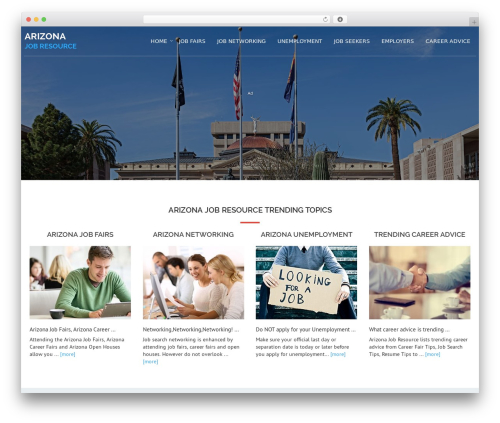 Avion theme WordPress - arizonajobresource.com