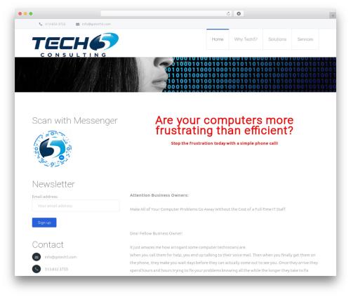 Best WordPress theme Salamat - gotech5.com