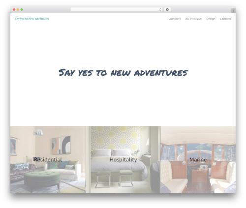 Oren free WordPress theme - arredolight.com