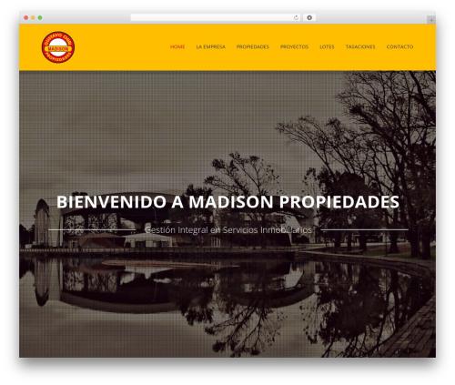 Revelance (shared on wplocker.com) WordPress template - madisonpropiedades.com