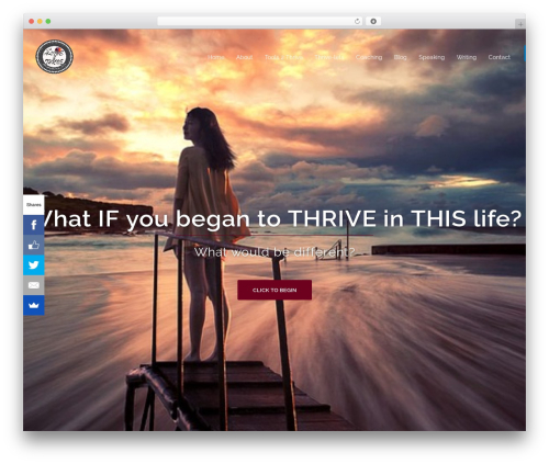 Sydney free WordPress theme - imalive2thrive.com