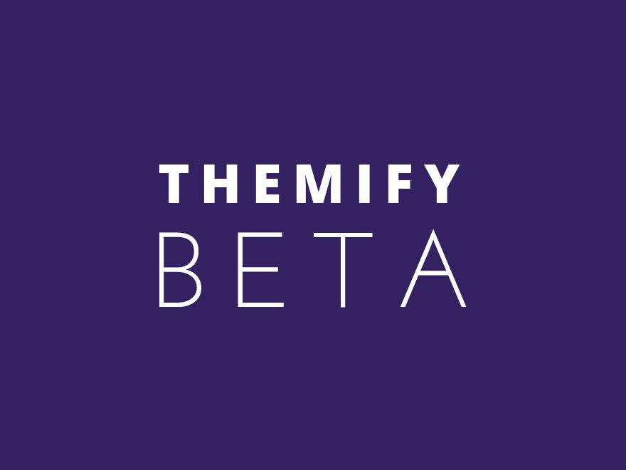 Theme WordPress Themify Beta
