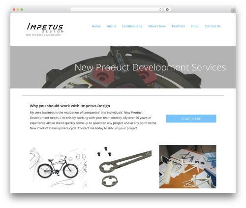Ascension car rental WordPress theme - designwithimpetus.com