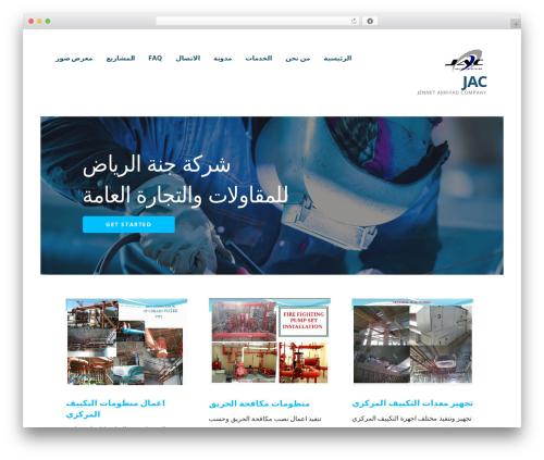 Ascension company WordPress theme - jac-iq.com