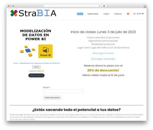 Conica WP theme - strabia.com