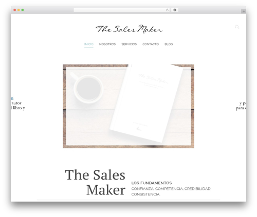 Theme WordPress Chester - thesalesmaker.com