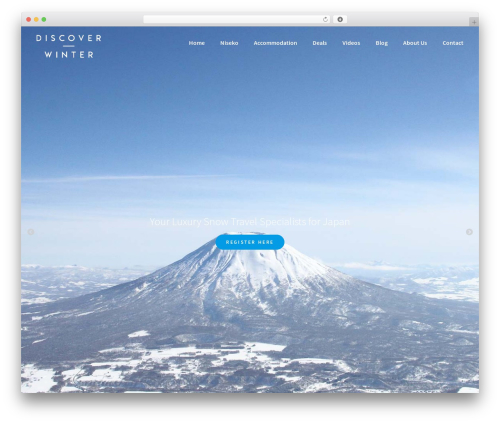 WordPress theme BLDR Pro - discoverwinter.com