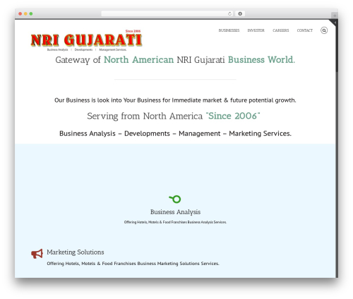 Avada WordPress ecommerce theme - nrigujarati.com