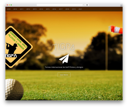 Best WordPress theme Arcade Basic - tigpa.com