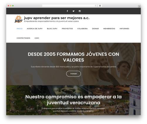 Meilleur Business WordPress template for business - jupv.org