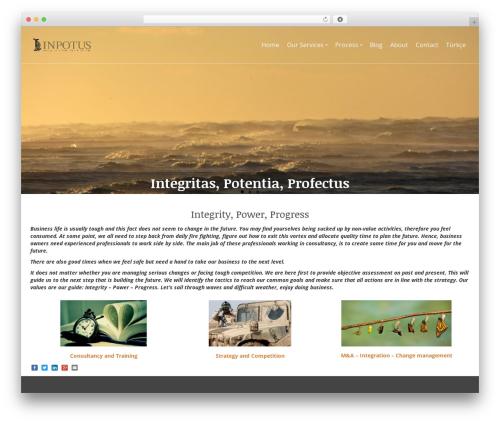 Pinnacle WordPress theme free download - inpotus.com