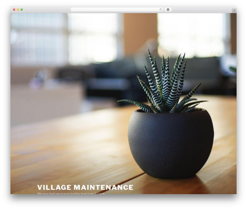 Twenty Seventeen best free WordPress theme - village-maintenance.com