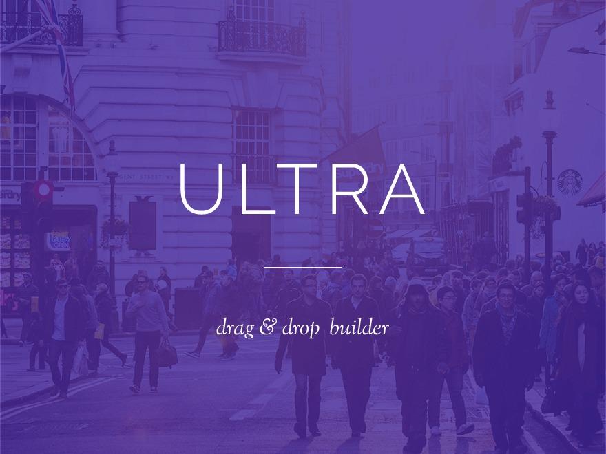 WordPress template Themify Ultra