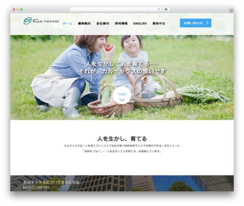 WordPress theme AGENT - cultechs.com