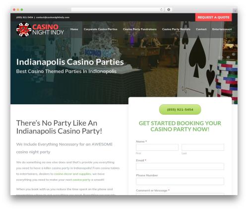 Avada WordPress ecommerce template - casinonightindy.com