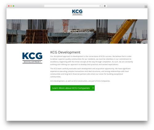 Best WordPress template Divi - kcgdevelopment.com
