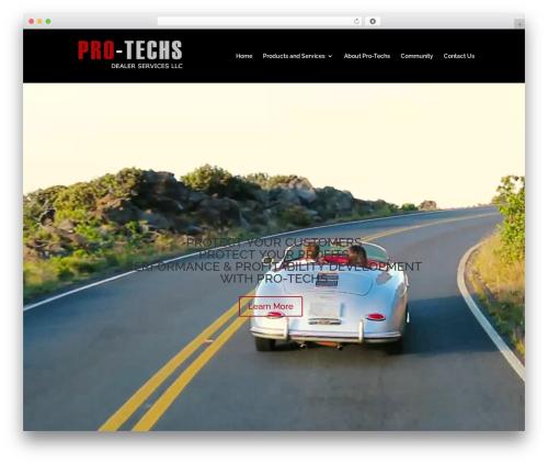 Divi WordPress theme - pro-techsdealerservices.com