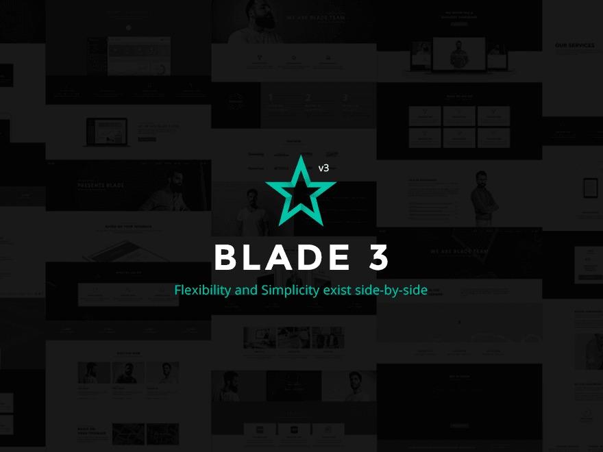 Template WordPress Blade