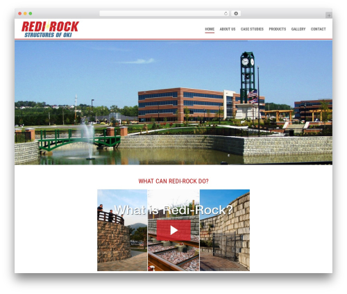 WordPress theme Elite - redi-rockstructures.com