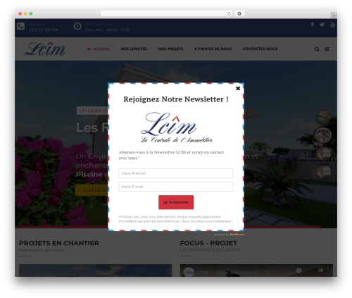 TheBuilt premium WordPress theme - lcim-immobilier.com
