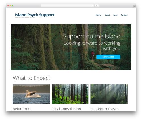 WordPress theme Ascension - islandpsychsupport.com