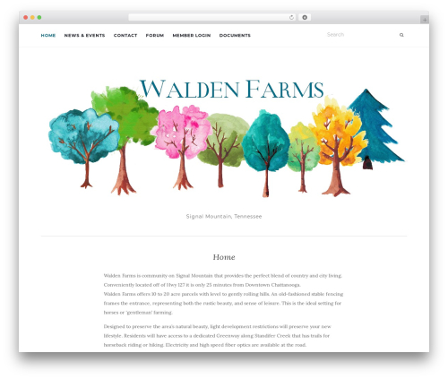 Activello WordPress template free - thewaldenfarms.com