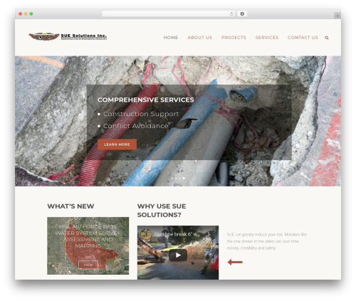 Bridge WordPress theme - suesolutions.com