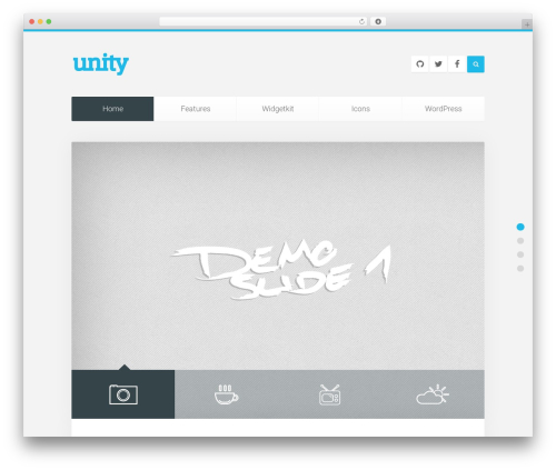 Unity WordPress theme - worldviewislam.com