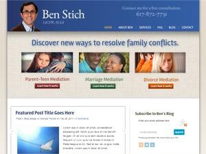 WordPress theme Ben Stich Theme