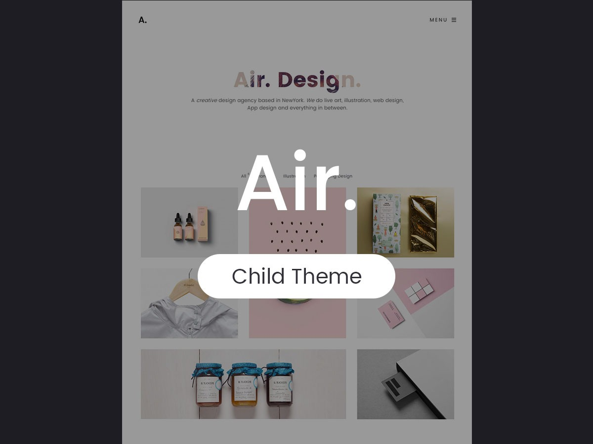 Air Child Theme best WordPress template