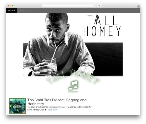 Arcade Basic WordPress template free download - tallhomey.com