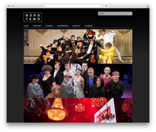 Clean Slate theme WordPress - tamo.ch