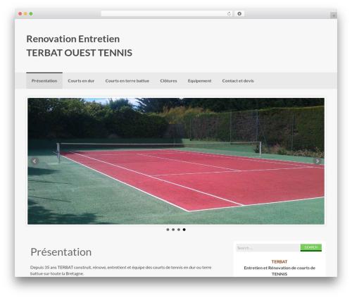 Coller free WP theme - tennis-renovation-entretien.com