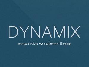 DynamiX WordPress page template