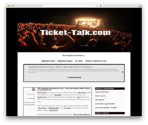 Elemin template WordPress - ticket-talk.com